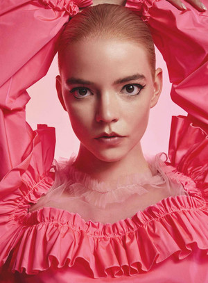 Anya Taylor-Joy - Viktor and Rolf's Flowerbomb Campaign Photoshoot - 2020
