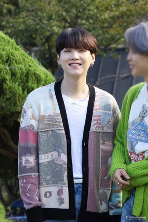 Bangtan Boys 'LIFE GOES ON' OFFICIAL MV photo SKETCH | SUGA