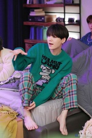 BTS 'LIFE GOES ON' OFFICIAL MV PHOTO SKETCH | SUGA