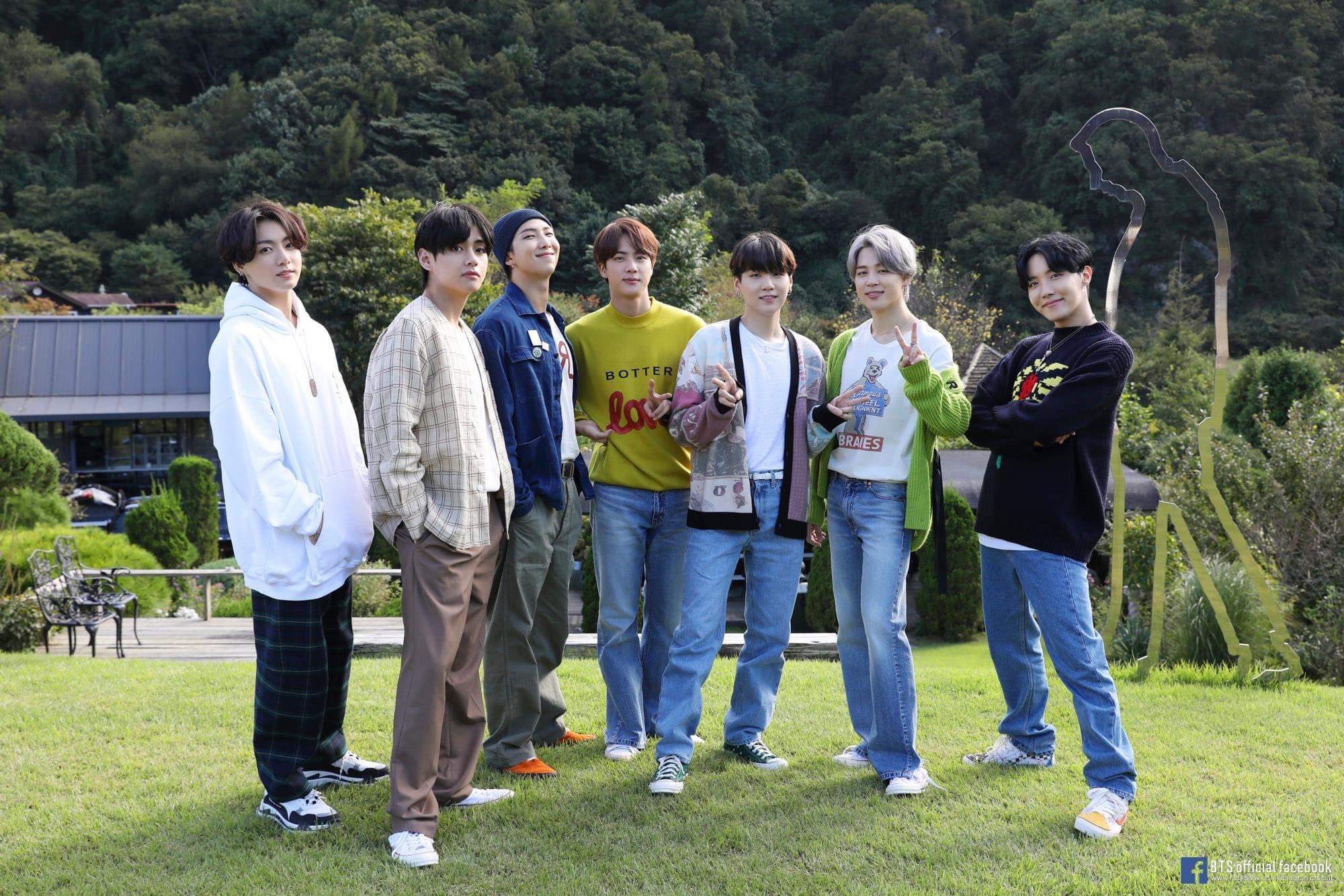 BTS 'LIFE GOES ON' OFFICIAL MV PHOTO SKETCH