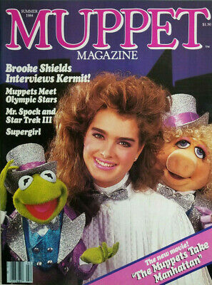 Brooke Shields On The Cover Of Muppet Magazine