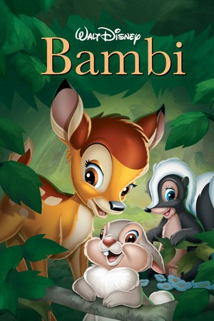 Classic Disney Posters - Bambi
