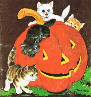 Cover art from Jack and Jill magazine 🎃 (October 1961)
