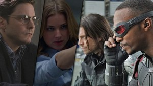 *The сокол and the Winter Soldier Cast*