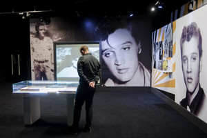 Elvis Presley Exhibit O2 Arena In लंडन