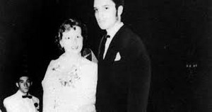 Elvis Presley 1953 High School Senior Prom