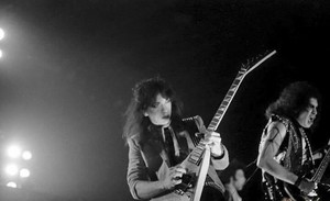 Gene and Vinnie ~ Malmö, Sweden...November 20, 1983 (Lick it Up Tour)