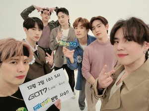 Got7 at Weekly Idol