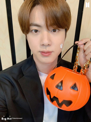 HALLOWEEN WITH BTS | JIN