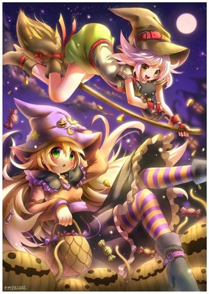 Happy Halloween to my Kachannie witch queenie🍬🖤🍫🦇🎃👻