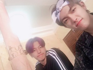 Hongjoong and Wooyoung