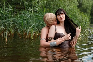 Hot And Sexy Cosplay - Xena And Gabrielle Are Lesbian Влюбленные