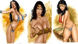 Hot And Sexy Wonder Woman
