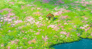 Howl's Secret Garden in Howl's Moving Castle