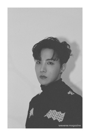 Jhope for Weverse Magazine