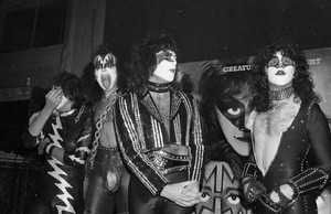 Kiss ~Hollywood, California...October 28, 1982 (Creatures Of The Night Press Conference)