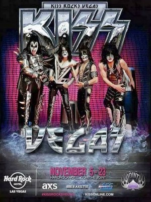 KISS ~Las Vegas, Nevada...November 5, 2014 (Hard Rock Casino/40th Anniversary World Tour)