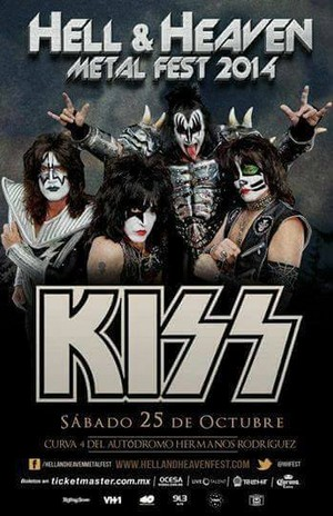 KISS ~Mexico City, Mexico...October 25, 2014 (40th Anniversary Tour)