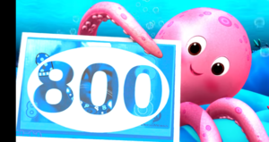 Learn Wïth Lïttle Baby Bum | Number Song 100-1000