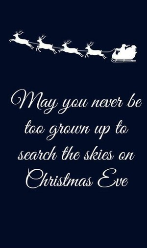 May you never be too grown up to paghahanap the skies on pasko eve ⭐