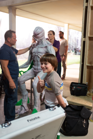 Stranger Things - Behind the Scenes - Noah Schnapp