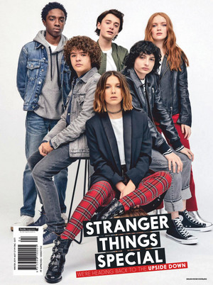 Stranger Things in Girlfriend Magazine - 2019 [Cover]