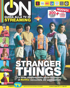 Stranger Things in ON Magazine - 2019 [Cover]