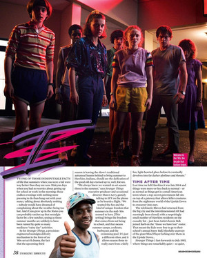 Stranger Things in SFX Magazine - Summer 2019 [1]