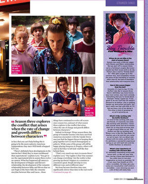 Stranger Things in SFX Magazine - Summer 2019 [2]