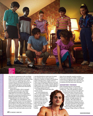 Stranger Things in SFX Magazine - Summer 2019 [8]