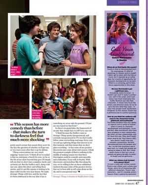 Stranger Things in SFX Magazine - Summer 2019 [9]