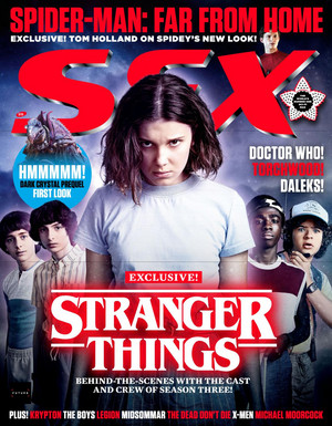 Stranger Things in SFX Magazine - Summer 2019 [Cover]