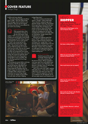 Stranger Things in SciFiNow Magazine - 2019 [4]