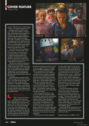 Stranger Things in SciFiNow Magazine - 2019 [5]