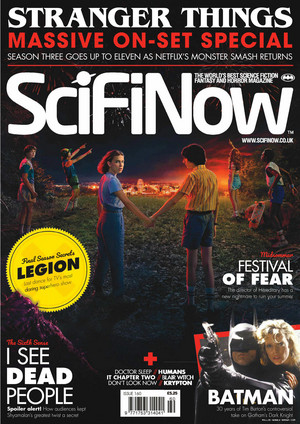Stranger Things in SciFiNow Magazine - 2019 [Cover]