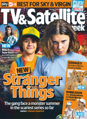 Stranger Things in TV and Satellite Weekly - 2019 [Cover]