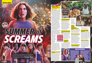 Stranger Things in TV and Satellite Weekly - 2019