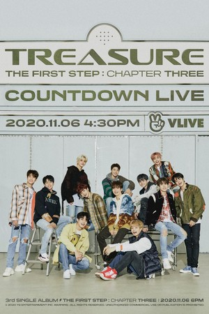 TREASURE – 'THE FIRST STEP : CHAPTER THREE' COUNTDOWN LIVE
