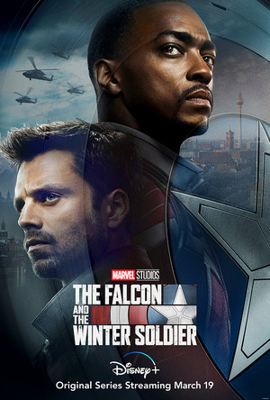 The falco, falcon and the Winter Soldier || Official Poster
