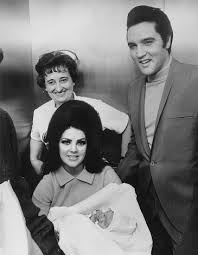 The Presley Family Leaving The Hospital 1968