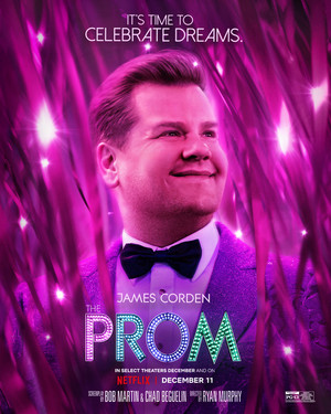 The Prom || Character Posters || James Corden