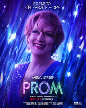 The Prom || Character Posters || Meryl Streep