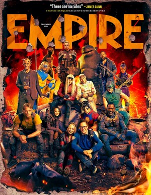 The Suicide Squad - Empire Magazine Cover - December 2020