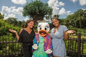Vanessa Williams And Her Daughter, Sasha With gänseblümchen, daisy ente
