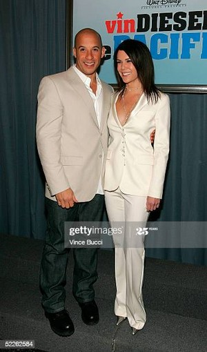 Vin Diesel And Lauren Graham 2005 Disney Film Premiere Of The Pacifier