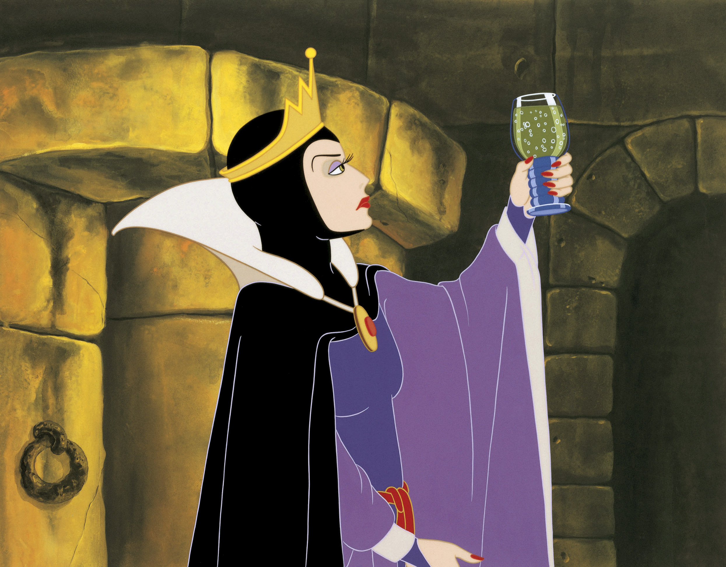 Walt Disney Production Cels - The Evil Queen