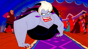 Walt Disney Screencaps - The Wedding Guests & Ursula