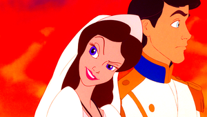 Walt 迪士尼 Screencaps - Vanessa & Prince Eric