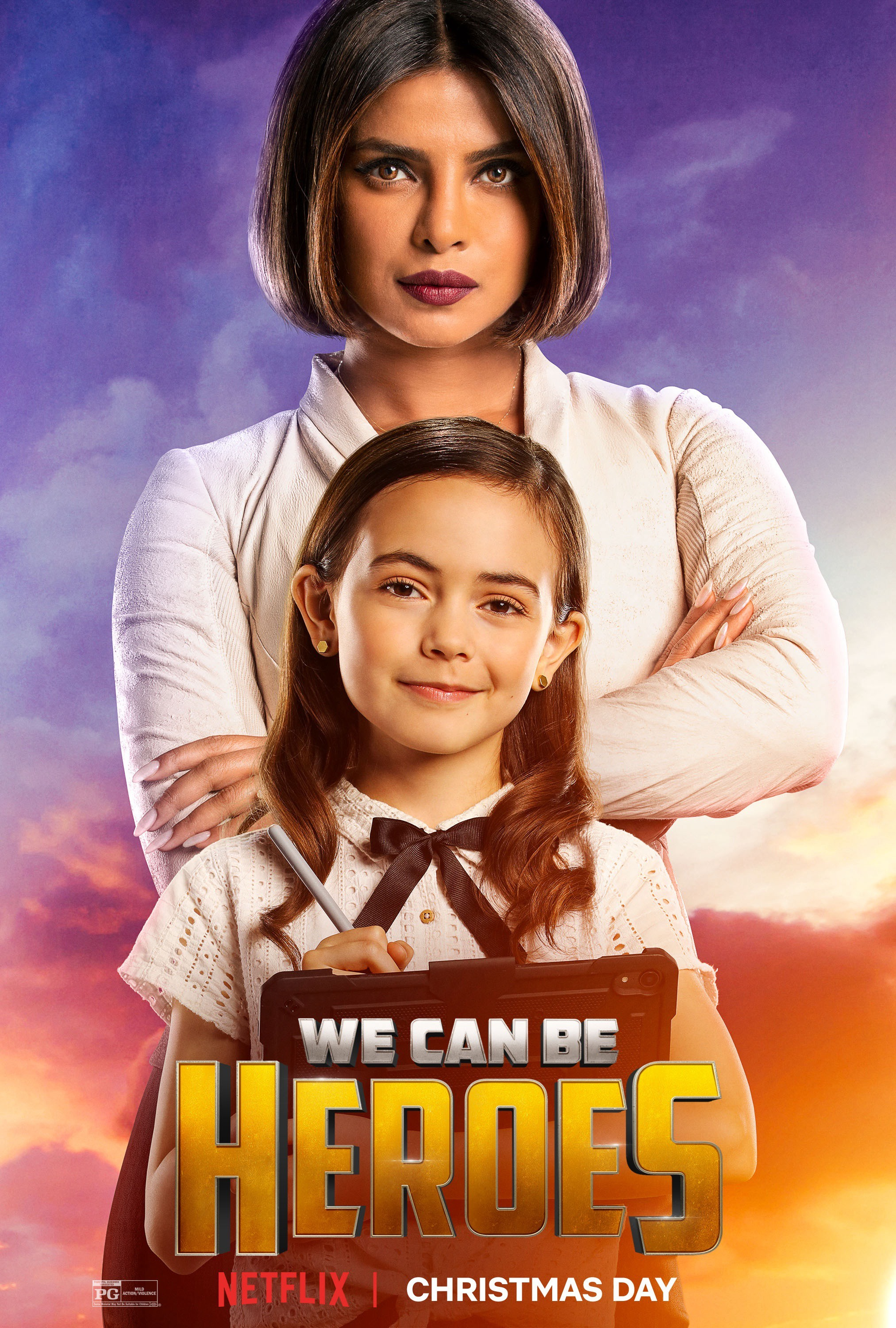 We Can Be Heroes || Character Posters