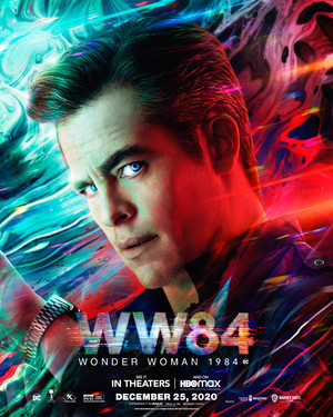 Wonder Woman 1984 - Character Poster - Chris Pine as Steve Trevor